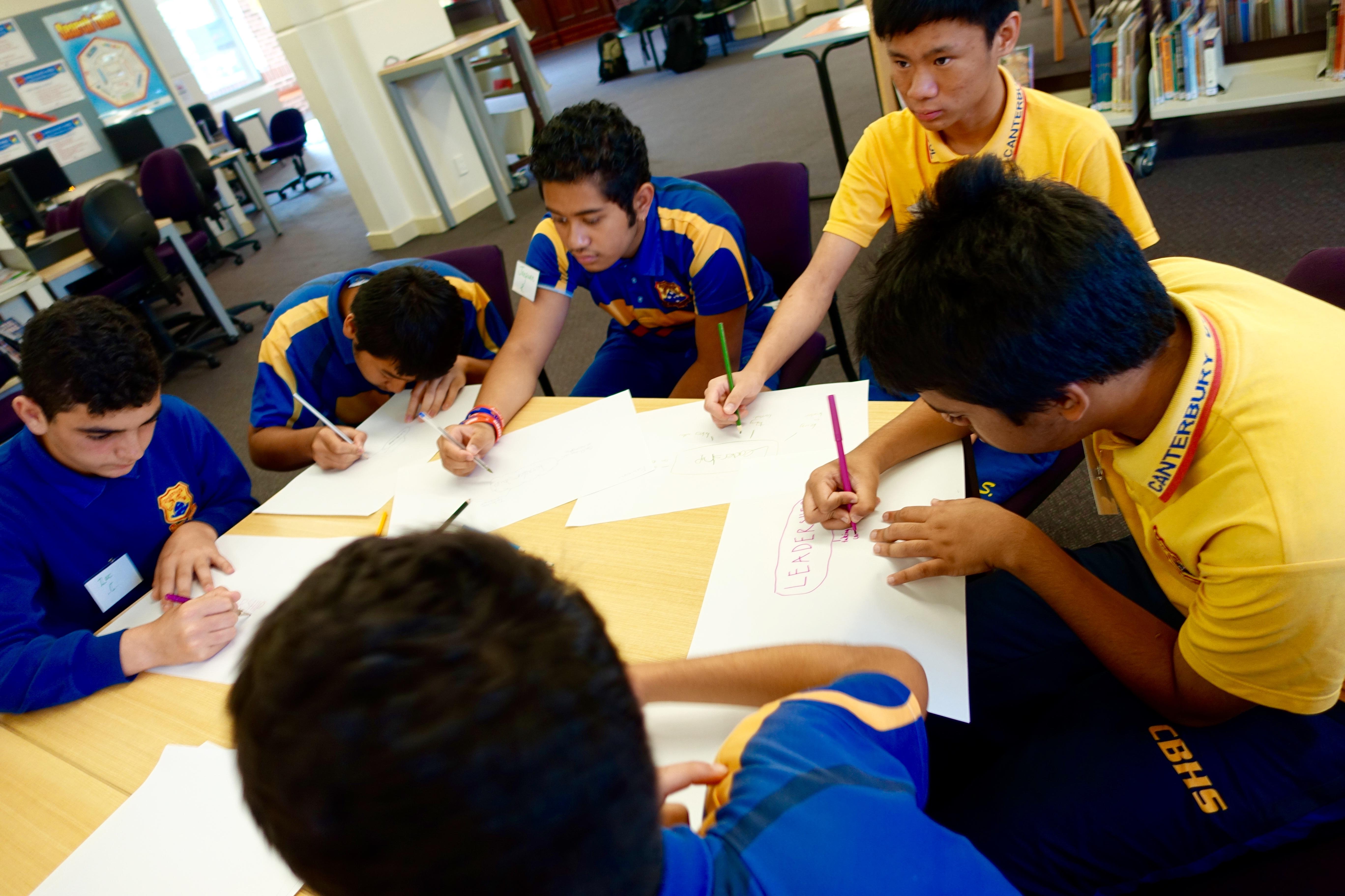 SRC Leadership Workshop, Canterbury Boys High School.